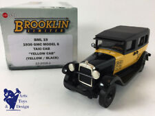 1/43 BROOKLIN BML 19 GMC MODEL 6 TAXI CAB YELLOW CAB 1930 YELLOW / BLACK