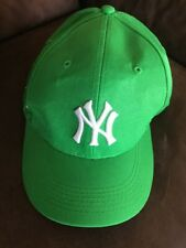 cbfa6eeb8b0 NY YANKEES GREEN BASEBALL CAP HAT DAY VELCRO ROBIN HOOD SGA 2016 STADIUM  PROMO
