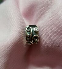 Authentic Pandora Lock With Pink Stones