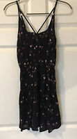 Pacsun LA Hearts Women's Dress Floral Black XS