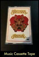 Santana Festival - Cassette Tape - CBS Music - 40-86020