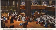 CORONATION 1937. Sir, your Majesty willing Oath?. Westminster Abbey 1937 print