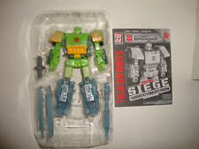 TRANSFORMERS SIEGE WAR FOR CYBERTRON VOYAGER CLASS SPRINGER