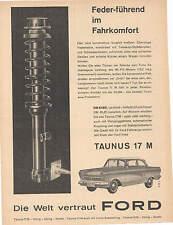 Historische Reklame -  alte Annoncen -  Ford Taunus - P2 - Barock - Werbeseiten