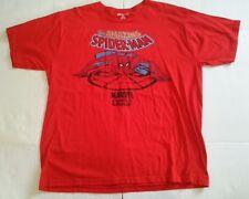 Disney Store Men's XXL The Amazing Spiderman Red T-shirt Marvel Comics Group