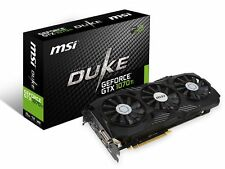 MSI GeForce GTX 1070 Ti DUKE 8G Graphics Card, PCI-E x16, SLI and VR Ready