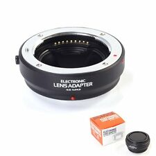 US Electronic Auto Focus AF Adapter Four Thirds Lens to M4/3 Olympus Panasonic