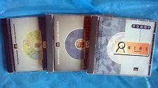 3 CD ROM - ANIME MANGA ROBOT, HORROR, FANTASCIENZA Daitarn, Goldrake, Devil Man