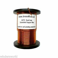0.50mm ENAMELLED COPPER WIRE - COIL WIRE, TATTOO COIL MAGNET WIRE - 500g