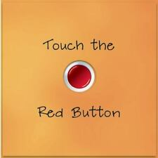 TOUCH THE RED BUTTON - ALEX LLUCH (HARDCOVER) Kids Book NEW c3