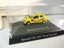HERPA RENAULT CLIO CUP '93 NEU OVP Auto Car  Motor Sport 1:87 Toy Sammler RAR