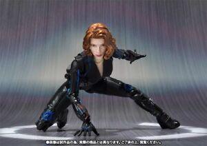 S.H.Figuarts Avengers Age of Ultron BLACK WIDOW Action Figure BANDAI NEW Japan