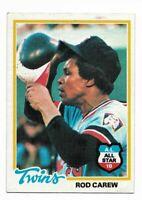 1978 Topps #580 Rod Carew, Minnesota Twins