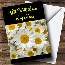 Daisy Personalised Get Well Soon Greetings Card