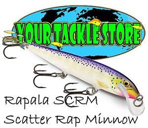 Rapala SCRM11 Scatter Rap Minnow Pick Color & Quantity NIP