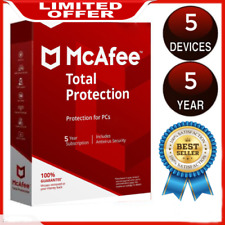 McAfee Total Protection 2020 Antivirus ✅ 5 Devices 5 Years ✅ instant Delivery 🔑