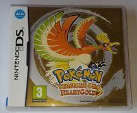 _( Pokemon Versione Oro HeartGold Cm Nuovo Completo Raro x Nintendo DS 3DS ITA)_
