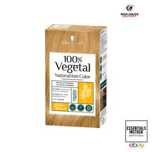 Schwarzkopf 100% Vegetal Hair Colour Golden Blonde