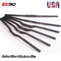 MTB Flat/Riser Handlebar 25.4/31.8*660-780mm Carbon Fiber/Al Mountain Bike Bar