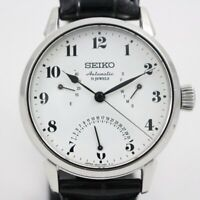 SEIKO PRESAGE SARD007 Automatic White Enamel Dial Leather 6R24-00E0 Men's