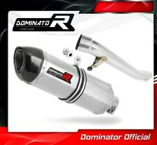 GSXF 750 Pot d/échappement Oval Silencieux Dominator Exhaust Racing Slip-on 1998 1999 2000 2001 2002 2003 2004 2005 2006