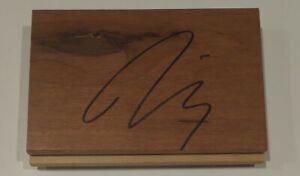 Diana Taurasi WNBA All Star SIGNED Autographed Floorboard COA