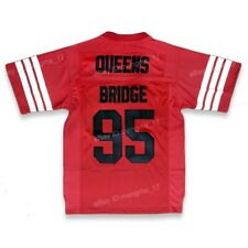 Prodigy #95 Hennessy Queens Bridge Movie Men Football Jersey Stitched Red