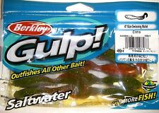 "Berkley Gulp! Saltwater Fishing Lure 4"" Swimming Mullet Camo GSSM4-C"