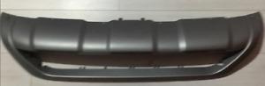 volvo s60 front bumper spoiler skid plate silver OEM 14-17 RARE