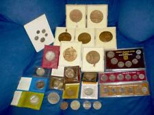 Israel coin & Medals Lot Silver, Bronze, Proofs 25 Pcs.( +200g in silver alone)