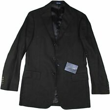 POLO RALPH LAUREN BLACK LINEN JACKET-SIZE SMALL-MADE IN ITALY