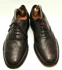 GREAT MENS SAVILE ROW BY BARKER BROWN LEATHER BROGUES SHOES SIZE 11 G UK 45 EU