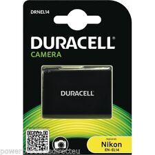 Nikon EN-EL14,ENEL14,EN-EL14A battery from Duracell, Fits Nikon D3100 etc