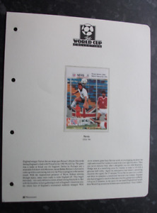 THE WORLD CUP COLLECTION - USA '94 - NEVIS STAMPS - MINT MINISHEET FOOTBALLERS