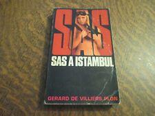 SAS a istanbul - GERARD DE VILLIERS