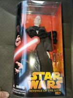 "Hasbro Star Wars Revenge of the Sith Darth Sidious 12"" Action Figure"
