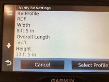 "Garmin 760LM BUS RV GPS Lifetime Maps Smart-Link Traffic 7"" LCD"