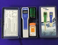 Hitech TDS Pen Meter Tester 0~9990 ppm Accuracy+-1% FS Carrying Case Accessories