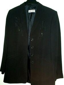 Ladies Gerry Weber  Black Lightweight Sequin Jacket, Size 12 - 14   Evening wear