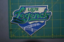 "Lexington Legends 5"" MiLB Throwback Minor League Baseball Jersey Patch"