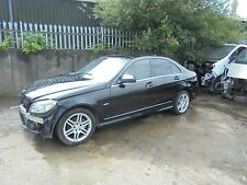 mercedes benz c220 cdi auto 2008 (salvage damaged unrecorded)