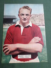 Jimmy Gauld-Charlton Athletic-Player-1 página Revista Panorama-clipping/cutting