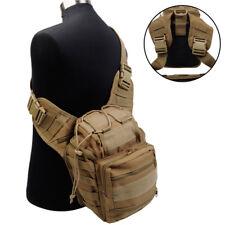 Molle Versipack Tactical Men hunting Backpack shoulder Bag Nylon Messenger 600D