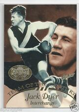 1996 Select Hall of Fame Team of the Century (TC 21) Jack DYER Richmond ~~