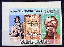 Imperf, Mh.Al Khwarizmi, Mathematician, Inventor of Algebra, Guine Bi. MNH (-Dn)