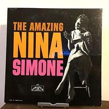 The Amazing Nina Simone by Nina Simone 1959 Vinyl Colpix Records 1st Press Mono