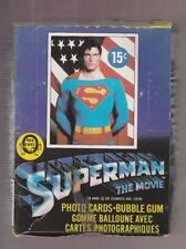 1978 Topps Superman The Movie Series 1 OPC Unopened Box 36 Packs!