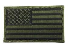 Parche USA Clásico camuflaje Woodland Verde y negro Coser / Pegar americano