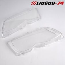 2X For 02-05 Bmw E46 3-series 4 Door Headlight Headlamp Lense Clear Lens Cover U (Fits: Bmw)