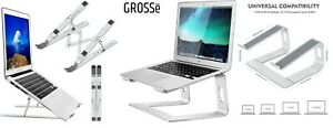 Adjustable Portable Tablet Laptop Stand Holder Desk Riser for Notebook Desk UK